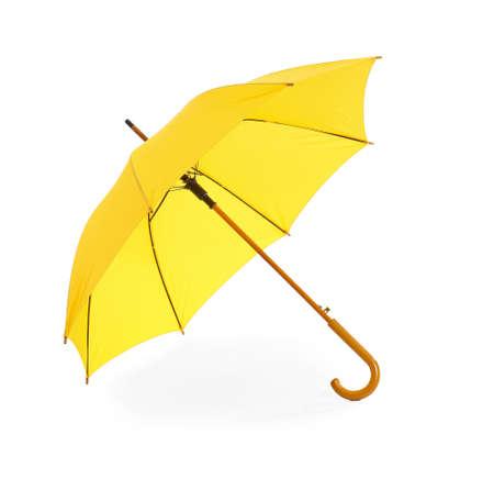 Photo pour Stylish umbrella on white background - image libre de droit