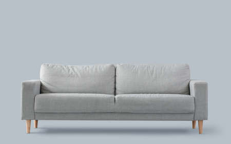 Photo pour Stylish sofa on light background - image libre de droit