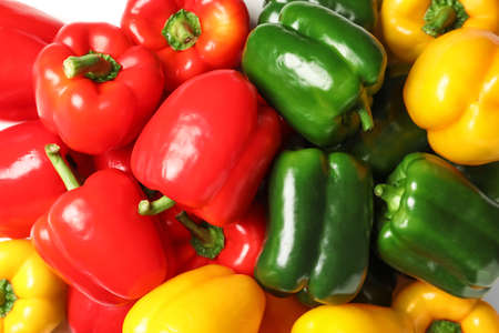 Foto für Different bell pepper as background - Lizenzfreies Bild