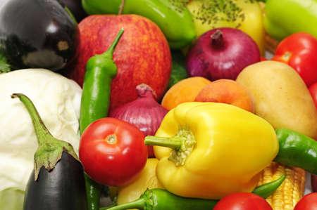 Foto für vegetables and fruit                                   - Lizenzfreies Bild