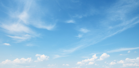 Photo for white cloud on blue sky - Royalty Free Image