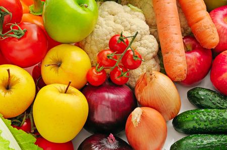 Foto für collection fresh fruits and vegetables - Lizenzfreies Bild