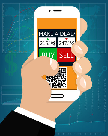 Mobile Foreign Exchange Trading Flat