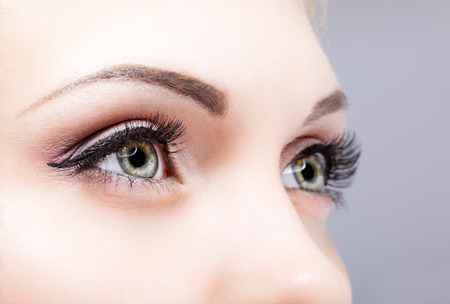 Photo for Close-up shot of female eyes makeup - Royalty Free Image