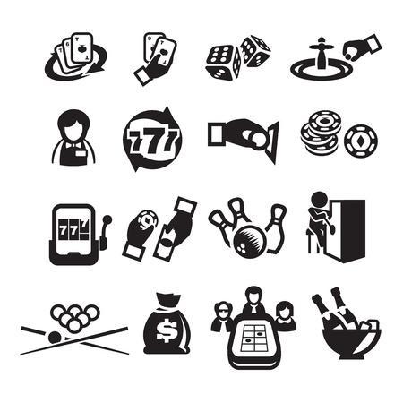 icons set casino