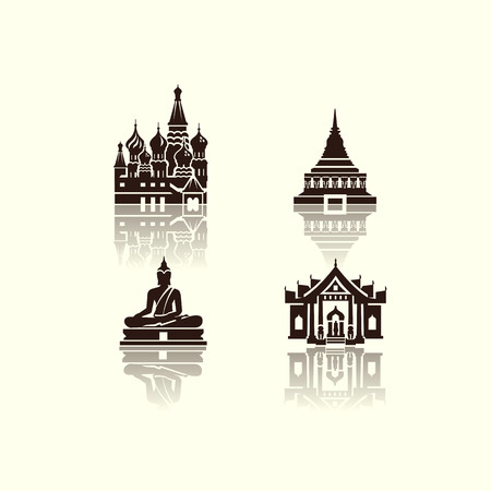 Journey icons  Vector format