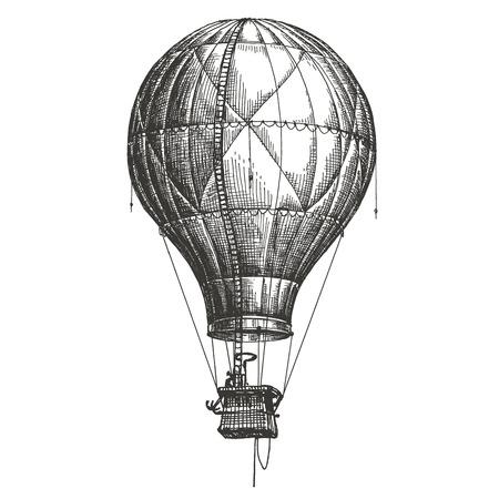Photo pour the sketch. air transport on a white background. vector illustration - image libre de droit