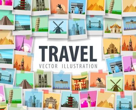 Illustration pour the city on a white background. vector illustration - image libre de droit