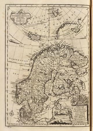 Antique Map 1747