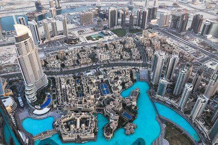 Photo pour cityscape in Dubai, UAE. - image libre de droit