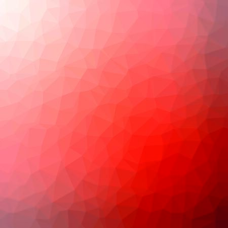 Illustration for Red and orange crystal polygon background. Low poly mosaic banner. Geometric rumpled triangular origami style gradient illustration. - Royalty Free Image