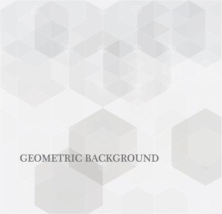 Illustration pour Vector Abstract science Background. Hexagon geometric design. - image libre de droit
