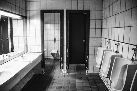 Foto de Old public toilets, detail of public toilet in the city - Imagen libre de derechos