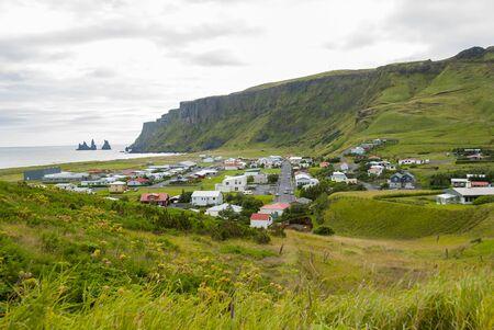 Vik village in Iceland