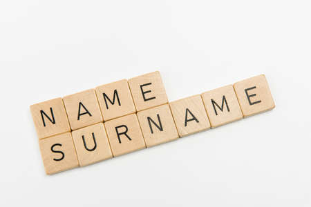 phrase name surname