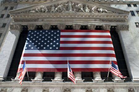 Photo pour New York Stock Exchange Manhattan, Wall Street, New York - image libre de droit
