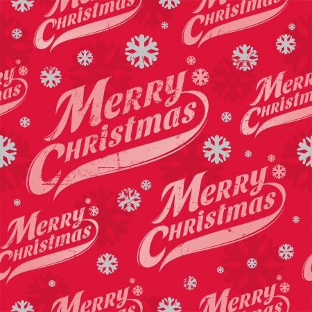 Seamless vector background - Christmas wrapping paper