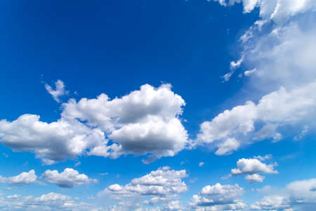 Photo pour Blue sky with white clouds. Beautiful background - image libre de droit