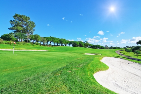 Summer Time Golf Course