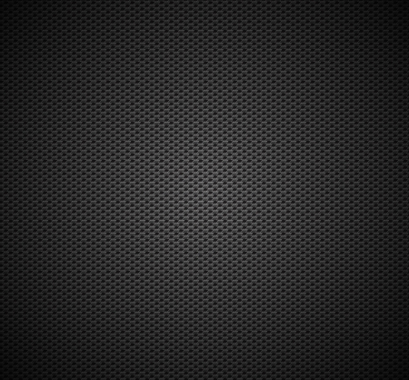 Carbon fiber background texture  Vector seamless pattern industrial material design