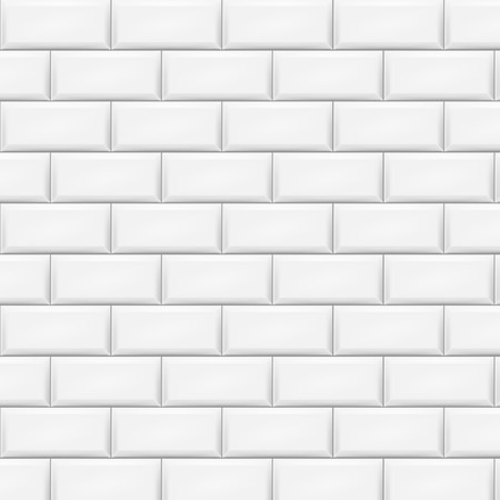 Illustration pour Horizontal white tiles background. Vector illustration. Eps 10. - image libre de droit
