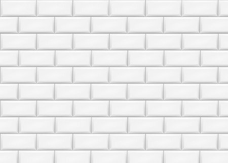 Illustration for Ceramic brick tile wall. Vector illustration. Eps 10. - Royalty Free Image
