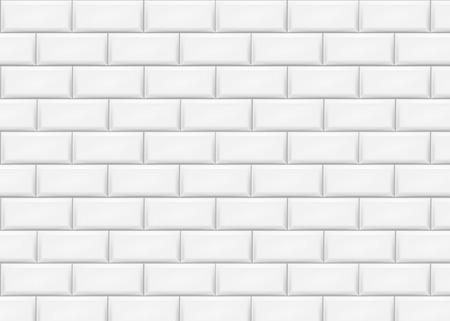 Illustration pour Ceramic brick tile wall. Vector illustration. Eps 10. - image libre de droit