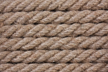 background of hemp rope