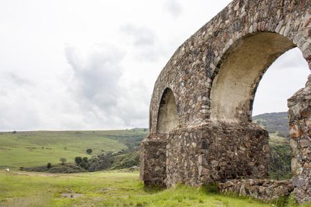 Arcos del Sitio. Tepotzotlan, Mexico.