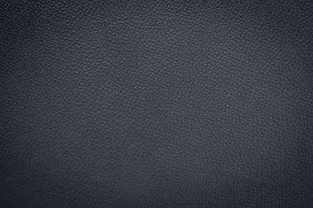 Photo pour Close-up of Black gray leather texture. Surface of rough abstract dark black matte background. Design in your work backdrop, concept copy space for text. - image libre de droit