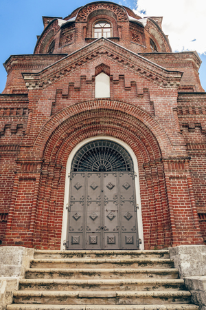 Church of the Theotokos Joy of All Who Sorrow at the Ioanno-Predtechensky Monastery in City-Island Sviyazhsk, Russia.
