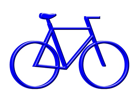 3D Bicycle icon