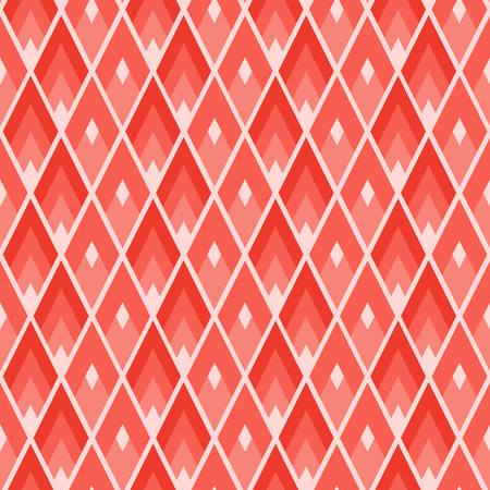 Illustration pour Geometric tile pattern with rhombus with sharp angles - image libre de droit