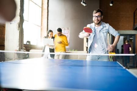 Foto de Table Tennis in Modern Office - Imagen libre de derechos
