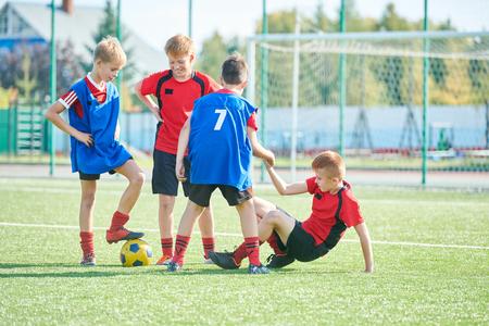 Foto de Junior Football Team - Imagen libre de derechos
