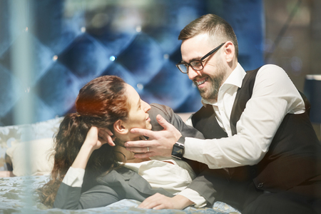 Photo pour Business romance - image libre de droit