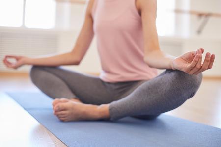 Photo for Keeping calm at yoga - Royalty Free Image