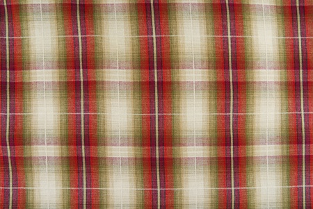 closeup of the chequered fabric texture