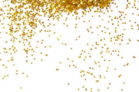 golden glitter frame background