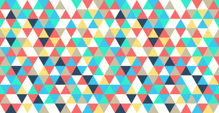 vector seamless geometric abstract triangle pattern background