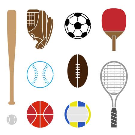 Ilustración de Sport Equipment - Imagen libre de derechos