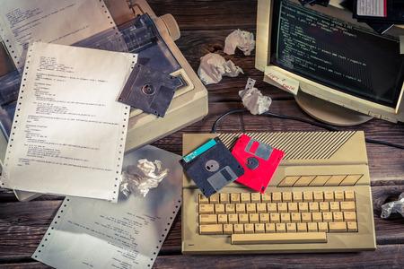 Photo pour Finding solutions algorithm of programming languages - image libre de droit