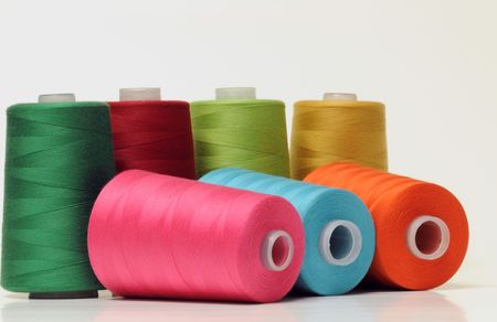 Group of colorful threads