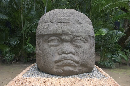 Colossal Olmec head