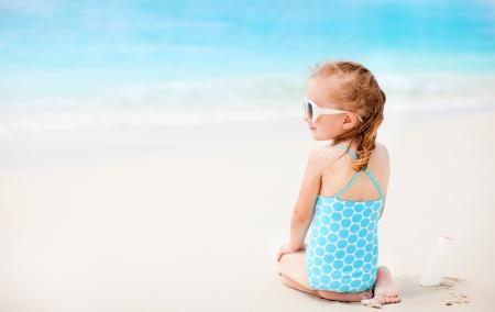 little girl sun