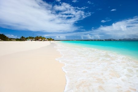 Beautiful Beach On Anguilla