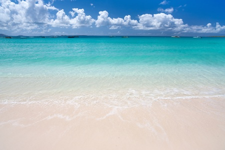 Sandy Beach Anguilla Bay