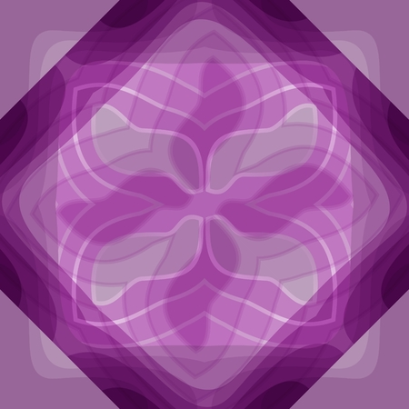 Modern abstract purple tile with transparency effect