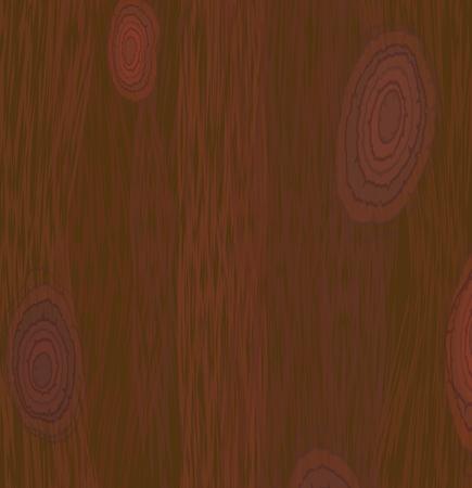 Red wood texture, dark natural wooden panel, Vector EPS 10