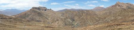 Panorama of mountain in Tibet